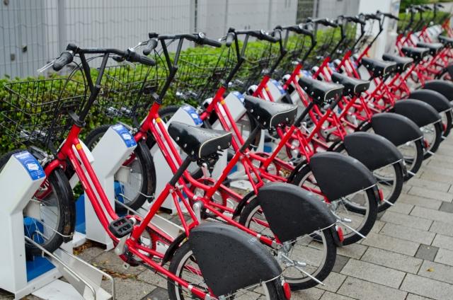 レンタルサイクル駐輪場