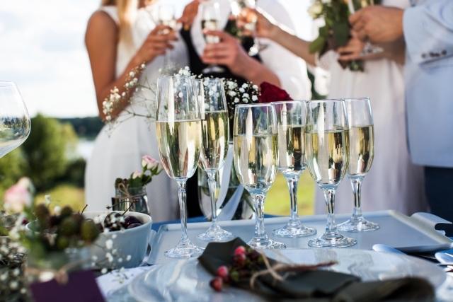 結婚式2次会ガーデンウエディング